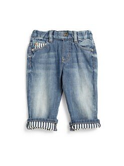 Armani Junior - Infant's Faded Jeans