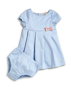 Juicy Couture - Infant's Pleated Dress & Bloomers Set