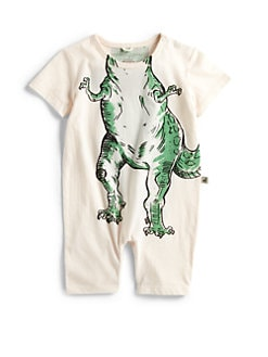 Stella McCartney Kids - Infant's Dinosaur Shortall