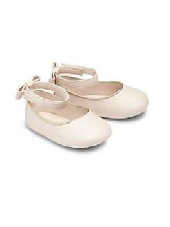 Chloe - Infant's Leather Ballet Flats