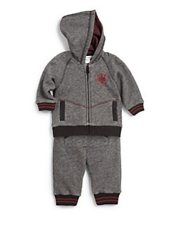 Little Marc Jacobs - Infant's Two-Piece Marled Jogging Set