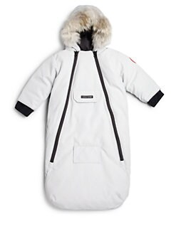 Canada Goose' Girl's Fur-Trimmed, Down-Filled Long Parka