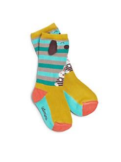 Catimini - Infant's Animal-Printed Knit Socks