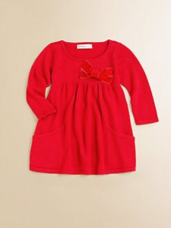Design History - Infant's Velveteen Bow Dress