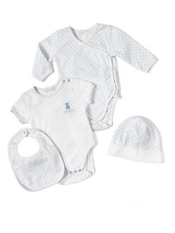 Gucci - Infant's Four-Piece Gift Set/Blue