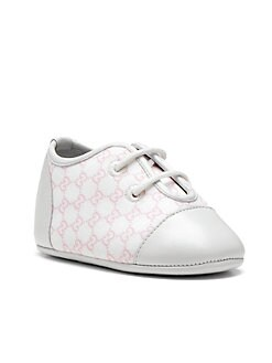 Gucci - Infant's Toe Lace-Up Sneakers