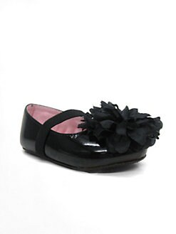 Stuart Weitzman - Infant's Bud Blossom-Toe Flats