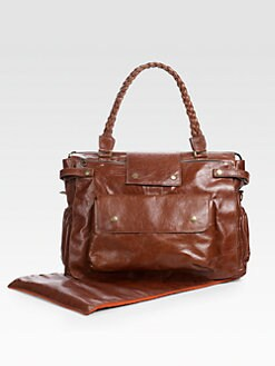 Not Rational - Gretel Leather Diaper Bag