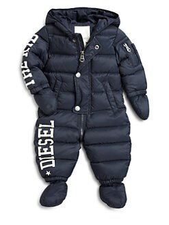 Diesel - Infant's Logo Snowsuit