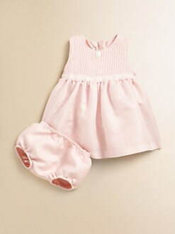 Dior - Infant's Dress & Bloomer Set