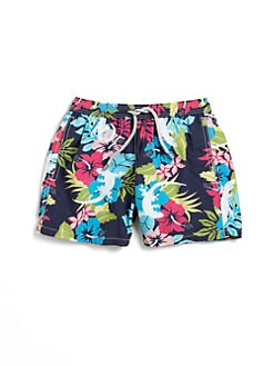 Vilebrequin - Infant's Floral Gecko Swim Trunks