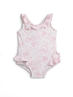 Florence Eiseman - Infant's Ruffled Floral Swimsuit
