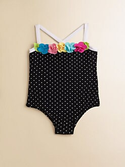 Love U Lots - Infant's Dotted Swimsuit