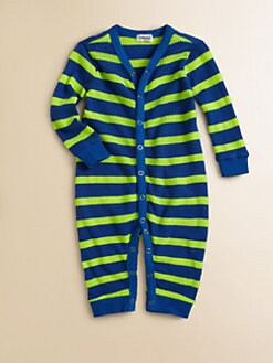 Splendid - Infant's Striped Neon Playsuit