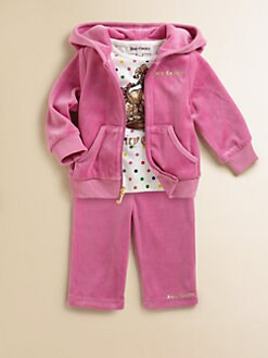 Juicy Couture - Infant's Velour Jog Set
