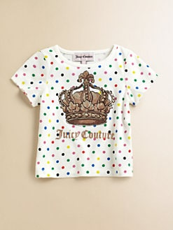 Juicy Couture - Infant's Dotted Logo Tee
