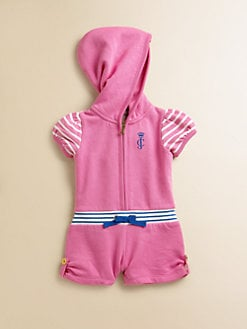 Juicy Couture - Infant's Hooded Romper