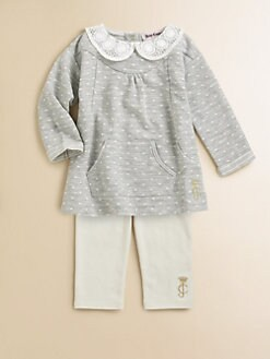 Juicy Couture - Infant's Dotted Tunic & Leggings Set