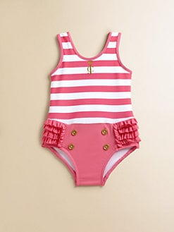 Juicy Couture - Infant's Sailor Striped Swimsuit