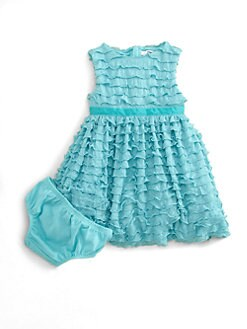 DKNY - Infant's Ruffled Dress & Bloomer Set