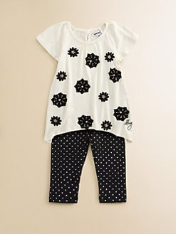 DKNY - Infant's Tunic and Leggings Set