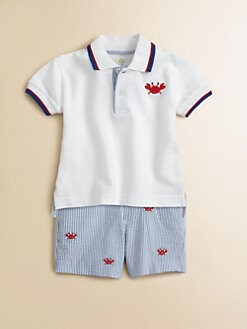 Florence Eiseman - Infant's Crab Polo Shirt