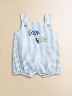 Florence Eiseman - Infant's Fish Seersucker Romper