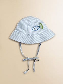 Florence Eiseman - Infant's Seersucker Fish Hat