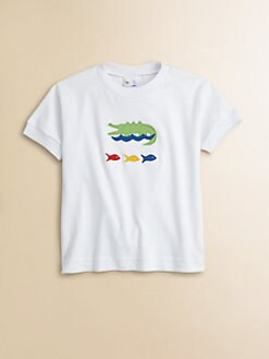 Florence Eiseman - Infant's Alligator & Fish Tee