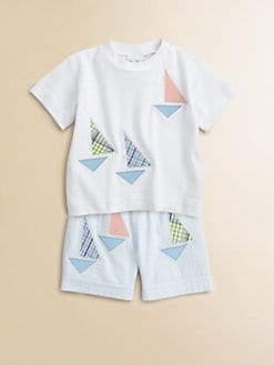 Florence Eiseman - Infant's Sailboat Tee