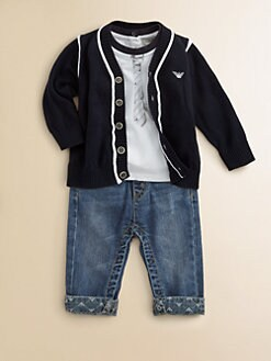 Armani Junior - Infant's Cotton Cardigan
