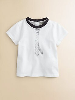 Armani Junior - Infant's Cotton Logo Tee