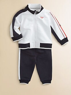 Armani Junior - Infant's Two-Piece Jacket & Track Pants Set