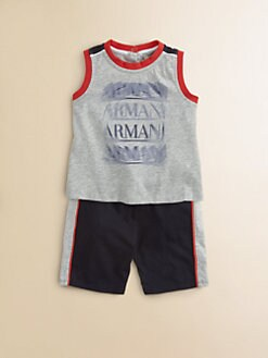 Armani Junior - Infant's Two-Piece Tee & Shorts Set