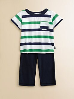 Splendid - Infant's Striped Tee and Pant Set