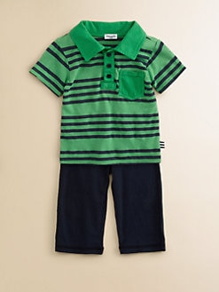 Splendid - Infant's Striped Polo and Pant Set
