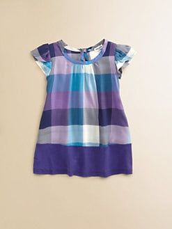 Splendid - Infant's Bright Plaid Dress