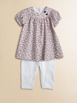 Petit Bateau - Infant's Floral Tunic