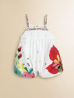 Catimini - Infant's Floral Bubble Shortall