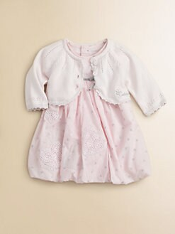 Catimini - Infant's Scalloped Cardigan
