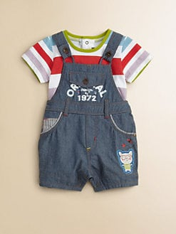 Catimini - Infant's Denim Overall Shortall