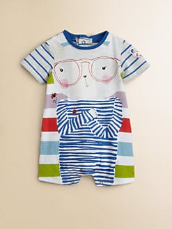 Catimini - Infant's Striped Shortall