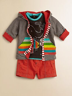 Catimini - Infant's Two-Piece Animal Tee & Shorts Set