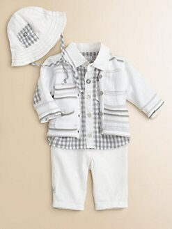 Catimini - Infant's Striped Cardigan