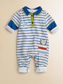 Catimini - Infant's Striped Coverall