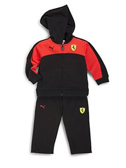 PUMA Ferrari - Infant's Two-Piece Scuderia Terry Hoodie & Pants Set