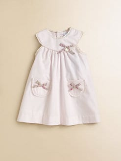 Tartine et Chocolat - Infant's Crocheted-Trimmed Knit Dress