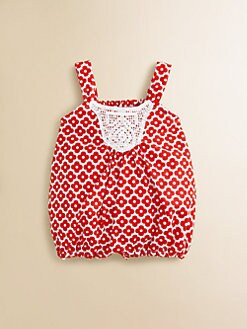 Isabel Garreton - Infant's Crochet Bubble Shortall