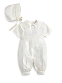 Isabel Garreton - Infant's Tucks Christening Romper