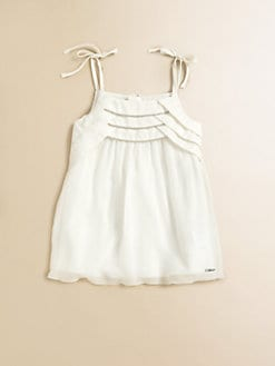 Chloe - Infant's Silk Crepe Dress
